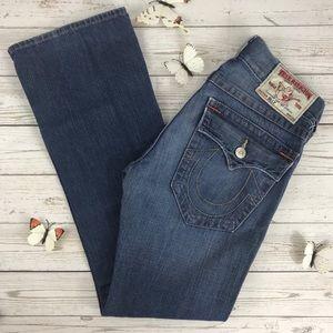 True Religion Billy Jeans N3-858 Medium Wash 34